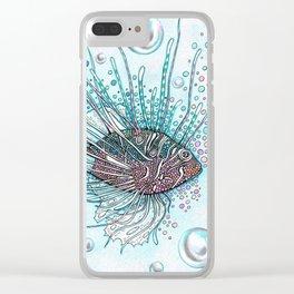 Pez Escorpión Clear iPhone Case