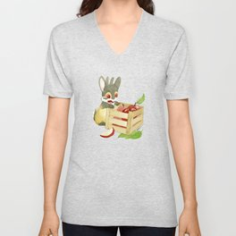 Apple Crate Unisex V-Neck