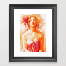 Make me feel Framed Art Print