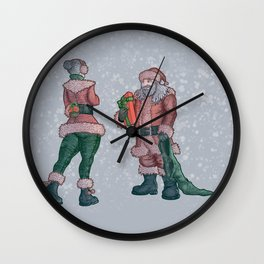 The last gift of the night Wall Clock