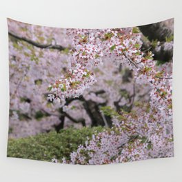 Cherry Blossom Time Wall Tapestry