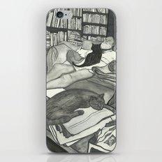 Edward Gorey Portrait iPhone & iPod Skin
