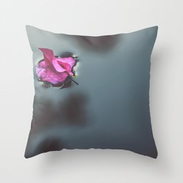 flower photography by J A N U P R A S A D Throw Pillow