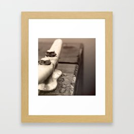 Mason Lake: Dewey Cleat Framed Art Print