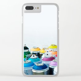 Cool cans Clear iPhone Case