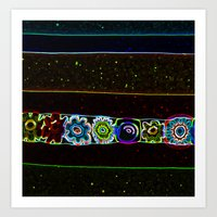 starry night Art Prints featuring Starry Starry Night by Lior Blum
