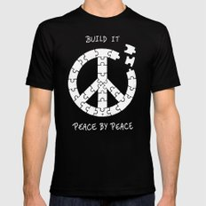 Peace By Peace MEDIUM Mens Fitted Tee Black
