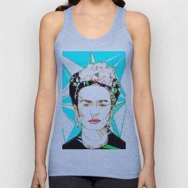 ICONS: Frida Kahlo Unisex Tank Top