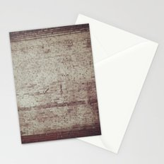 Brick Texture Stationery Cards