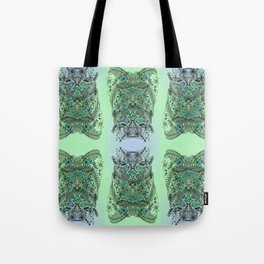 Little Birds and big brother Owl Tote Bag