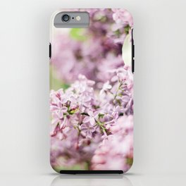 Lilac blossom iPhone Case