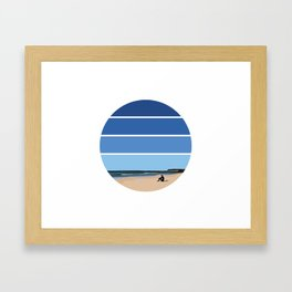 The Waiting Game Framed Art Print