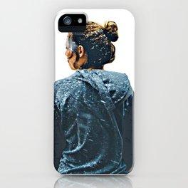 snow girl iPhone Case