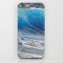I love ocean waves iPhone Case