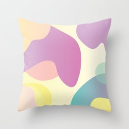 Funky Abstract Pattern Throw Pillow