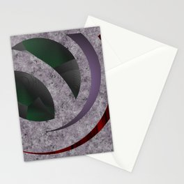Curves on Chaos Stationery Cards