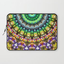 Colorful 3D Abstract Sun Laptop Sleeve