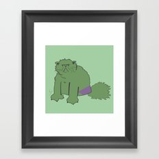 The Incatable Hulk Framed Art Print