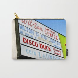 Disco Duck Carry-All Pouch
