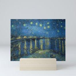 Starry Night Over the Rhone Mini Art Print