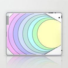 rainbow pastel Laptop & iPad Skin