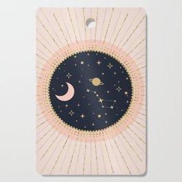 Love in Space Cutting Board