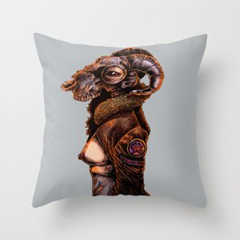 Dead Pornstar Throw Pillow
