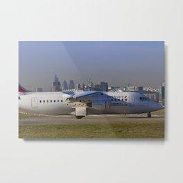 London City Airport Metal Print