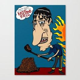 Hot Dog Hell Canvas Print