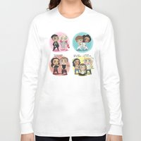 cyrilliart Long Sleeve T-shirts featuring Adventures of 1D & LM by Cyrilliart