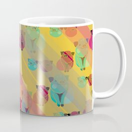 Pigs In Rainbow Coffee Mug