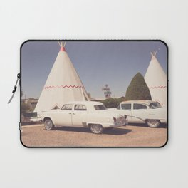 Sleep at the Wigwam Laptop Sleeve