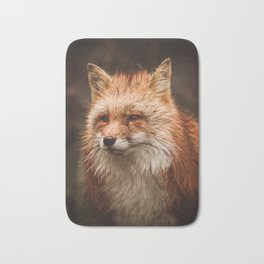 American Red Fox Bath Mat
