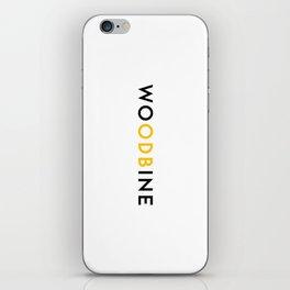WUTANG x TTC | WU'DBINE ON WHITE VERTICAL iPhone Skin