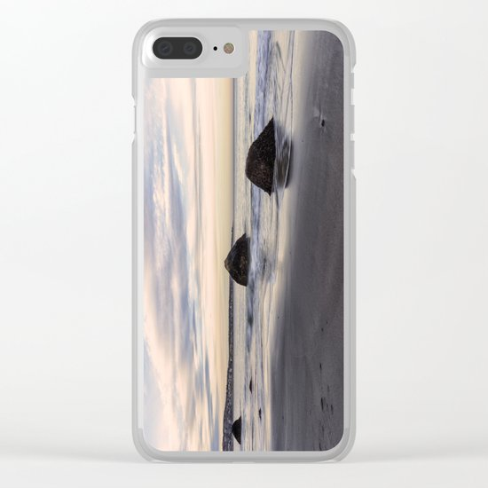 Sand Sea And Sky Clear iPhone Case