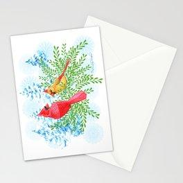 Christmas Birds Stationery Cards