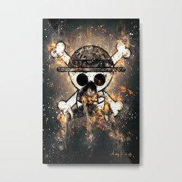 OnePiece Heroes Metal Print