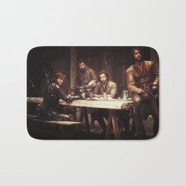 The Musketeers Bath Mat