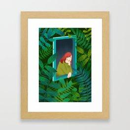 Ivy love. Framed Art Print