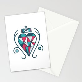 King of Hearts Stationery Cards