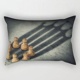 the pawns crown Rectangular Pillow