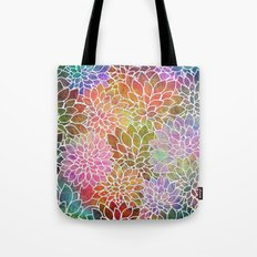Floral Abstract 6 Tote Bag