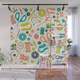 Get Crafty Wall Mural