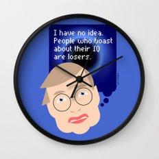 Stephen Hawking Wall Clock