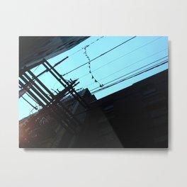 alleyway bunting Metal Print