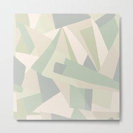 Abstract Geometric Art Print No. 3 Metal Print