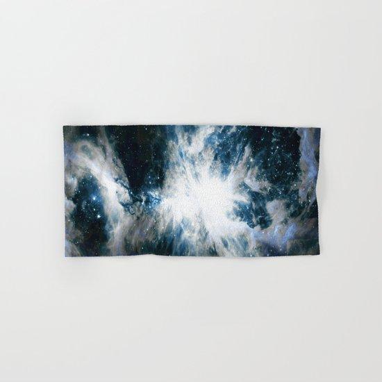 Orion Nebula Blue & Gray Hand & Bath Towel