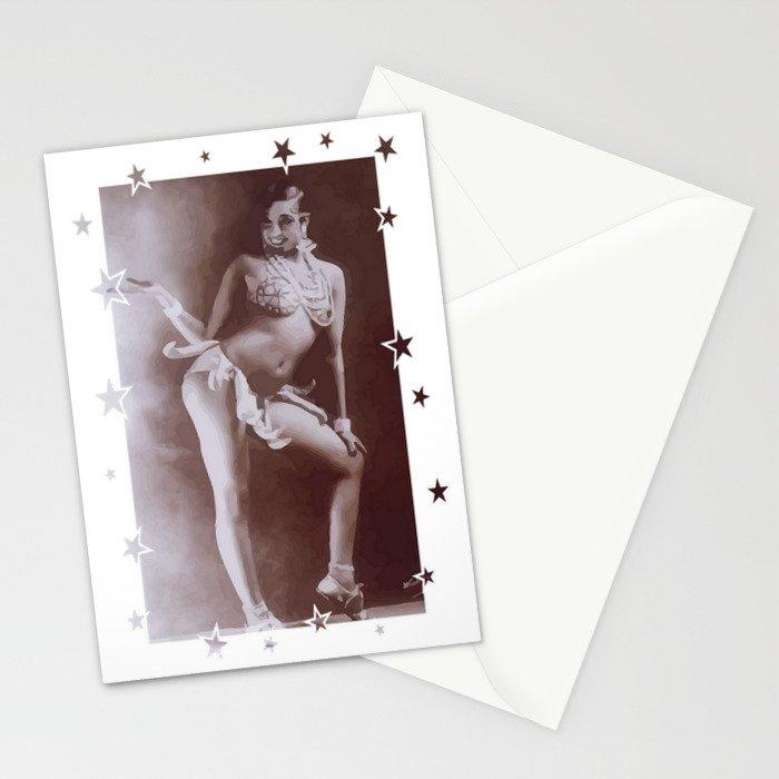Josephine Baker - Banana Skirt Stationery Cards
