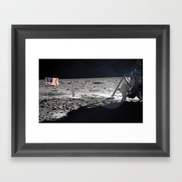 Neil Armstrong Framed Art Print