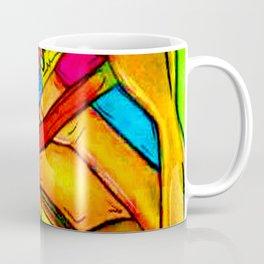 Rainbow trombone Player heart Coffee Mug